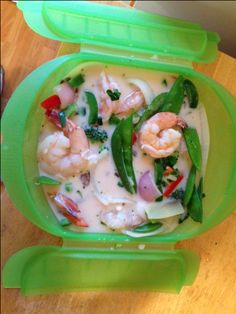 Equip My Kitchen » Tom Kha Gai (Thai Coconut Soup with Shrimp) by:Jennifer Barsamian