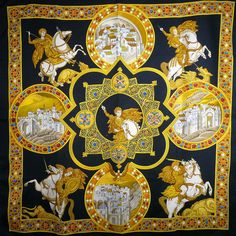 Le Triomphe du Paladin HERMES scarf