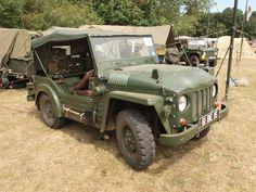 FV1801A Truck, 1/4 ton, CT, 4x4 Austin, Mk1 (Austin Champ) British Tanks, British Army, Vintage Cars, Antique Cars, Paul Jackson, Army Vehicles, Classic Trucks, Old Trucks, Car Photos