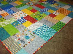Bungle Jungle Quilt - Baby or Toddler
