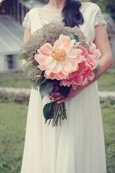 peonies! // floral design by Boukates, photo by Alea Moore Photography. View more: http://ruffledblog.com/flower-guide-by-alea-moore-photography-and-boukates/