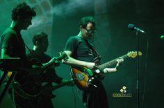 The Supersonicos abriendo el show de Chuck Berry - Teatro de Verano - Abril 2013 © Federico Meneses