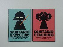 Placa Banheiro Masculino e Feminino (par) - Star Wars…