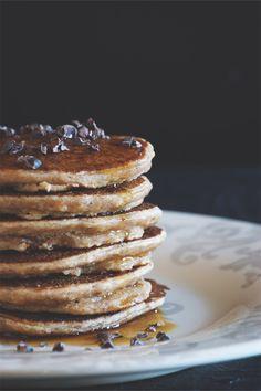 Hazelnut pancakes - vegan