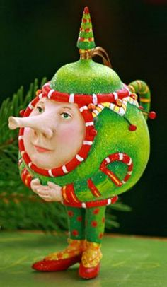 Patience Brewster Christmas Teapot..Awesome would love one of these, oh well the picture will do :)