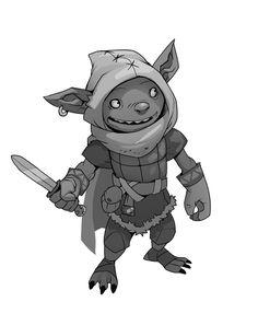Goblin by SC4V3NG3R.deviantart.com on @deviantART