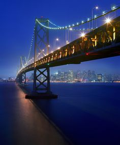 ~~Bay Bridge, San Francisco, California by Zeb Andrews~~