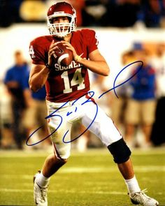 Sam Bradford Autographed 8x10 Photo - JSA  SportsMemorabilia   OklahomaSooners. SportsMemorabilia.com · Oklahoma Sooners Memorabilia 92c446e20