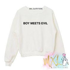 Boy Meets Evil BTS kpop crewneck sweatshirt