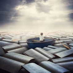 """""""The point of books is to have way too many, but to always feel you never have enough"""" — Louise Erdrich"""