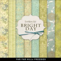 Sunday's Guest Freebies -Far Far Hill ***Join 1,790 people. Follow our Free Digital Scrapbook Board. New Freebies every day.