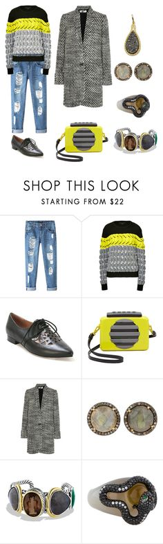 """Meeting friends for coffee and a pastry...yum"" by karen-galves ❤ liked on Polyvore featuring Chicnova Fashion, Alexander Wang, Miz Mooz, Marc by Marc Jacobs, STELLA McCARTNEY, David Yurman, NOVICA, women's clothing, women's fashion and women"