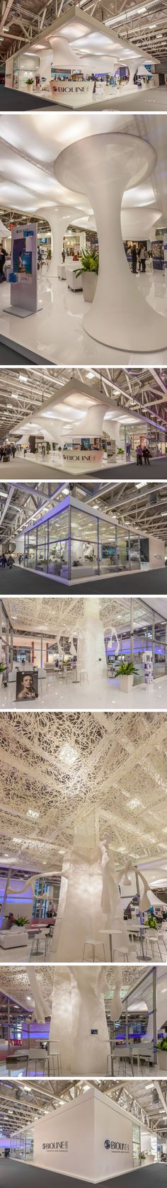 Exhibition Stand @ Cosmoprof •Stand Design: Studio Creta •Stand Build: Xilos Temporary Architecture