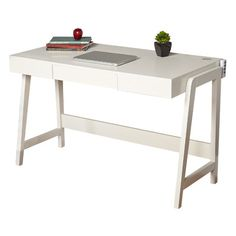 You'll love the Parsons Tech Writing Desk at Wayfair - Great Deals on all Office  products with Free Shipping on most stuff, even the big stuff.