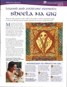 Legend and Folklore Symbols: Sheela Na Gig