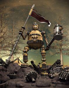 The Last Robot Picture (3d, fantasy, robot)