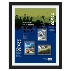 Multi-Use Float Frame - Black 20x24. . .maybe able to use for  seating chart