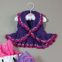 Party shrug pattern | Love of Knitting Summer 2011 | Love of Knitting kid's vest pattern