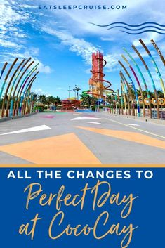 Is It Different at Perfect Day at CocoCay in 2021? Find out what is different at Perfect Day at CocoCay with this latest update from the first Royal Caribbean cruise of 2021 in North America! Top Cruise Lines, Swimming Pigs, Lagoon Pool, Bahamas Cruise, Adventure Of The Seas, Royal Caribbean Cruise, Shore Excursions, Eat Sleep, Beach Club