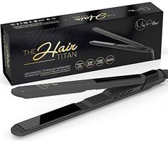Need to straighten or style your hair in a hurry? Do you have long, frizzy, wavy hair? Do you have course or curly hair? Stubborn roots that you have to go over and over with your flat Iron? Get the best professional hair straightener that does not snag or tug your hair. Protect your delicate hair from roots to tip. The Hair titan not only flattens your hair but flips and curls too! Leave your hair with a smooth and silky texture. Perfect for normal tocourse hair! You will also benefit…