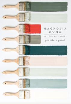 Magnolia Home Paint Colors | Joanna Gaines | Fixer Upper | Best Interior Paint Colors 2016 | Furniture Paint | Shiplap