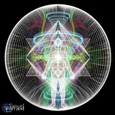 Consciousness is what creates. So instead of focusing outside of self, focus on the Love within; letting go of how the form should look.In Meditation, align with the light and love of the Universal Merkabah, releasing old patterns. In this sacred time we will manifest exactly where our consciousness is. As we are simply ourselves, all that is ours, will come to us effortlessly. Focus on matching inner consciousness with desire; are they aligned. Merkaba art by Samuel Farrand