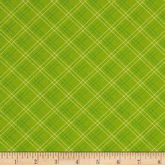 Cruzin Plaid Green