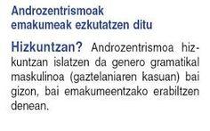 KRONIKA  II-2 HIZKUNTZA ETA KOMUNIKAZIO EZ SEXISTA