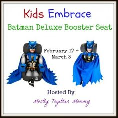 Batman Car Seat Giveaway