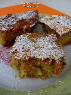 Κολομπαρίνα της γιαγιάς μου... η βορειοελλαδίτικη γλυκιά κολοκυθόπιτα των πέντε λεπτών!   Tante Kiki Sweet Recipes, French Toast, Recipies, Deserts, Muffin, Cooking Recipes, Breakfast, Cakes, Food
