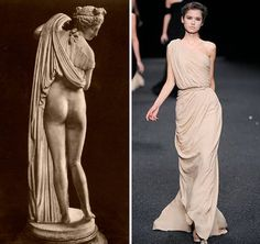 Jean-Paul Gauthier ancient Greece inspired collection.