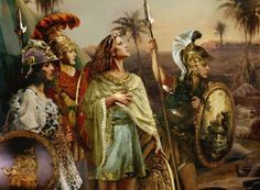 Amazon warriors of Greek mythology.
