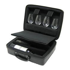 Mala para 8 Taças ou 3 garrafas e 4 taças