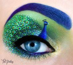 L'extraordinaire Maquillage figuratif de Tal Peleg (10)