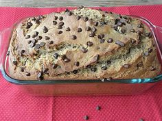 Chocolate & banana bread