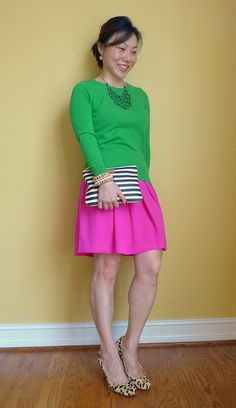 pink & green by respect the shoes, via Flickr