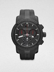 "Burberry ""The Endurance"" Men's Black Ion Plated 46mm Chronograph Watch BU9802"