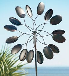 garden wind spinner - for the front yard?