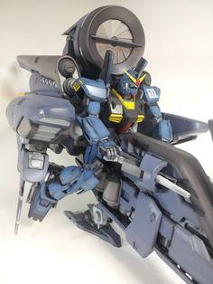 LAVENDER (Super Gundam Titans Production) # Dengeki Gunpla King 2012