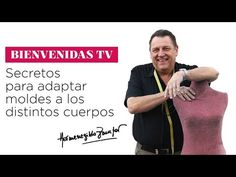 Hermenegildo Zampar - Bienvenidas TV -  Secretos para adaptar moldes a los distintos cuerpos - YouTube