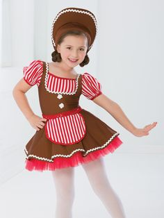 Gingerbread Girl | Revolution Dancewear Character Dance Recital Costume