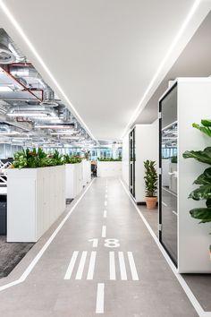 Office Open Plan, Office Layout Plan, Open Concept Office, Open Office Design, Office Floor Plan, Corporate Office Design, Workplace Design, Office Interior Design, Office Design Concepts