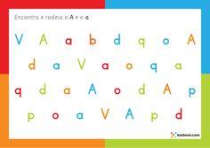 Encontra a letra A