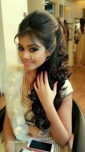 Day Hair Haircuts Hairstyle India Inspirational Long Straight Wedding Hairstyle For In 2020 Indian Hairstyles Traditional Hairstyle Indian Wedding Hairstyles