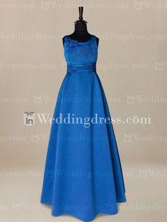 Indigo Junior Bridesmaid Dresses