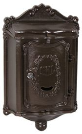 Colonial Wall Mount Locking Mailboxes Bronze $85