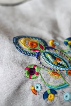 Beautiful imaginative embroidery