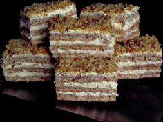 Prajitura Krantz   CAIETUL CU RETETE Romanian Desserts, Russian Desserts, Romanian Food, Romanian Recipes, Sweets Recipes, Cake Recipes, Cooking Recipes, Cooking Tips, Krantz Cake