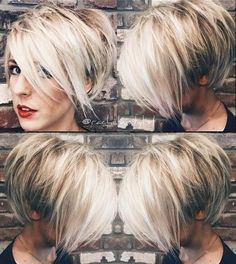 Today we have the most stylish 86 Cute Short Pixie Haircuts. We claim that you have never seen such elegant and eye-catching short hairstyles before. Pixie haircut, of course, offers a lot of options for the hair of the ladies'… Continue Reading → Long Pixie Hairstyles, Short Pixie Haircuts, Hairstyles Haircuts, Short Hair Cuts, Short Hair Styles, Haircut Short, Curly Short, Pixie Bob, Blonde Short Hair Pixie