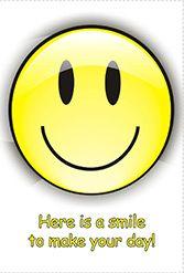 FREE CARD-A smile